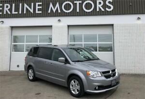2016 DODGE GRAND CARAVAN CREW, STOW'N'GO, ONLY 62 KMS, WARRANTY!