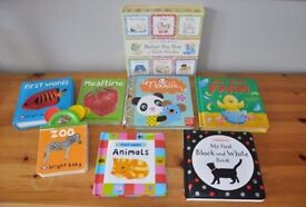 Collection of baby, toddler books