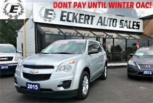 2015 Chevrolet Equinox LS WITH BLUETOOTH