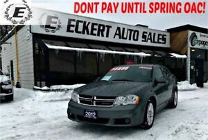 2012 Dodge Avenger SXT WITH SUNROOF/BLUETOOTH