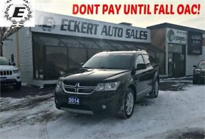 2014 Dodge Journey Limited WITH SUNROOF/3RD ROW SEATS