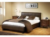 6K Furniture Brand NEW small double single kingsize Leather Bedding BASE