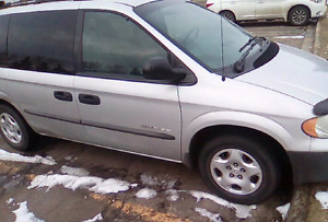 Good running condition 2001 Dodge caravan 7 seater