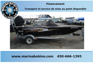 2012 Princecraft Starfish moteur Mercury 40HP