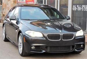 2012 BMW 5 Series 535i xDrive/MSPORTS PKG/NAV/BACK UP/