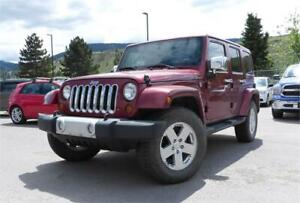 2012 JEEP WRANGLER UNLIMITED SUPER LOW KILOMETRES 108,658 K