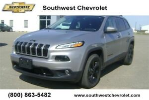 2016 Jeep Cherokee Limited, 20900km, Leather, Sunroof