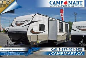 2018 Starcraft Autumn Ridge Outfitter 26BHS - ONLY 1 LEFT!