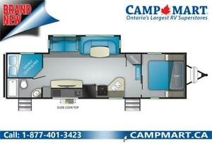 36 FOOT FAMILY BUNKHOUSE ULTRA LIGHT! WITH SLIDE!
