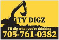 Ty Digz - Excavating - Grading - Armour Stone & More