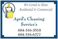 "April's Cleaning Service's ""Residential & Commercial"""