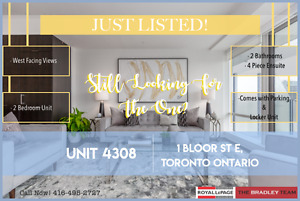 1 Bloor St #4308 - Central Downtown Living in The One