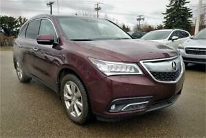 2016 ACURA MDX Elite PKG Nav DVD Heated/Cooled Seats AWD Finance