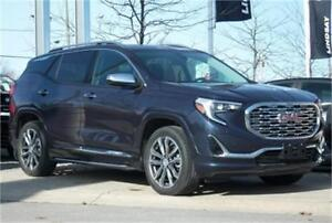 2018 GMC Terrain Denali|Sunroof|Leather|Navi|BOSE|Trailer Hitch