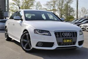 2011 Audi S4 /white / 3.0T leather / roof / Clean No Accident