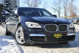 2010 BMW 7 Series 750i l M SPORT PACKAGE l NAVI l BU CAM l CLEAN
