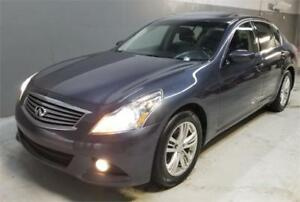 2012 INFINITI G37 Sedan Luxury $119 B/W Nav, Back up camera