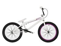 Mirraco Velle BMX. White and immaculate. Barely used.