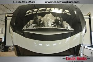 Sierra Front Living Room Fifth Wheel, Beautiful and Well Built