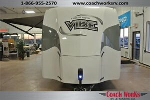 272 BHS Vibe Deluxe Bunk House Trailers Quality