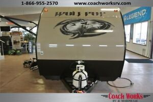 2017 Forest River Cherokee Wolf Pup 17RP Mini Toy Hauler