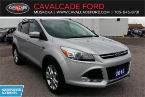 2015 Ford Escape Titanium AWD with Roof, Nav, Leather seats!!