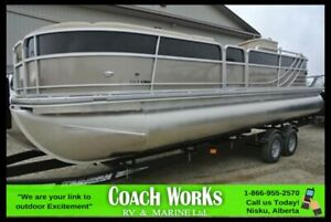 2015 FOREST RIVER SOUTH BAY PONTOON 524ETT13 PRICE DROP