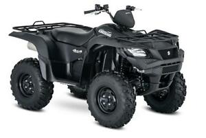 SUZUKI KING QUAD 750 2018 DEMO! WINCH INCLUS !! $9999 !!!