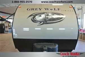 #1 Selling Bunk Model Trailer Grey Wolf 26 DBH