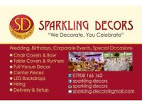 Event decorations special offer packages