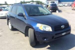 2007 TOYOTA RAV4 4Cyl AWD A/C GROUPE ELECTRIQUE