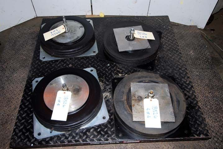Pneumatic Isolation Pads (4) Items (inv.18526)