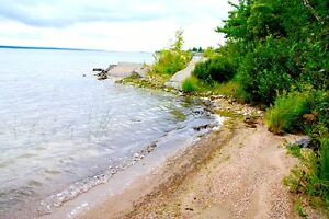 1.4 acre lot in 18,000 acres of LaCloche park 295' on lake Huron