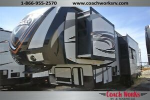 AWESOME NEW TOY HAULER AT AN AlMOST PRE-OWNED PRICE!!!