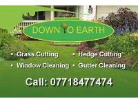 Grass cutting and other Garden services