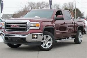 2015 GMC Sierra 1500 SLE Crew 4WD|Z71|Leather|Navi|Remote Start