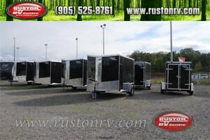 NEW 2018 Look Enclosed Cargo Trailers In Stock! Ready to go