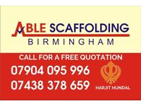 Able scaffolding Birmingham Ltd