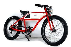 T4B Cafe Racer Style Electric Bike Bicycle 500W