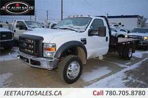 2008 Ford F550 XL 4X4 Duallie with FLAT DECK