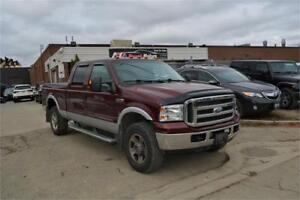 2005 Ford Super Duty F-250 Lariat Edition 4x4 Leather Sunroof