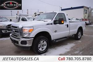 2011 Ford Super Duty F-250 XLT 4X4 DIESEL REGULAR CAB