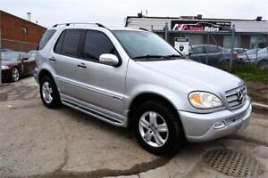 2005 Mercedes-Benz Ml 350 Special Edition 4Matic Leather Sunroof