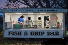 Fish and chip catering trailer £9000