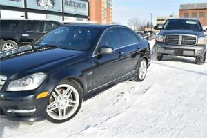 2012 Mercedes-Benz C 350 awd accident free