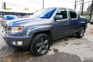 2010 Honda Ridgeline EX-L//Leather//Sunroof//1 Year Warranty