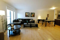 FULLY FURNISHED, 41/2 (2 BEDROOMS) DOWNTOWN, ATWATER, PARKING