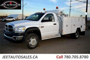 2008 Dodge 5500HD 11' Mech. Service Body + Air Comp + 6.7 Diesel