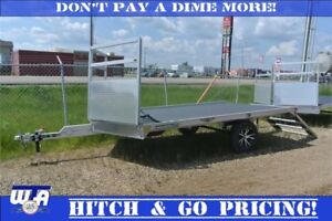 H&H Sled trailers. 10x12V instock and ready to hit the hills.