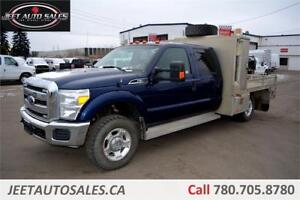 2012 Ford Super Duty F350 XLT 4X4 GENERAL Flat Deck Service Body